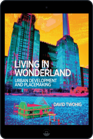 Cover of Living in Wonderland (Ebook - tablet) by David Twohig