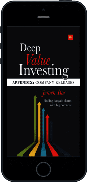 Cover of Deep Value Investing Appendix (Ebook - phone) by Jeroen Bos