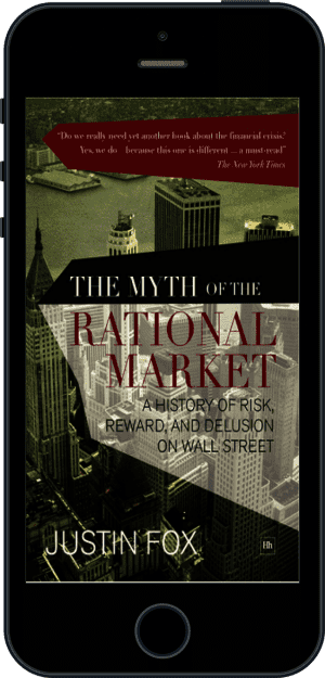 Cover of The Myth of the Rational Market (Ebook - phone) by Justin Fox
