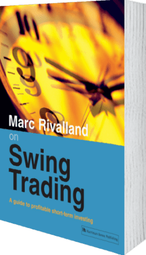 Cover of Marc Rivalland on Swing Trading by Marc Rivalland