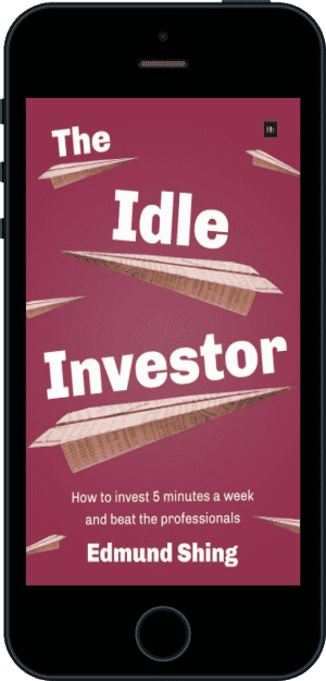 Cover of The Idle Investor (Ebook - phone) by Edmund Shing