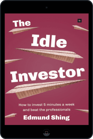Cover of The Idle Investor (Ebook - tablet) by Edmund Shing