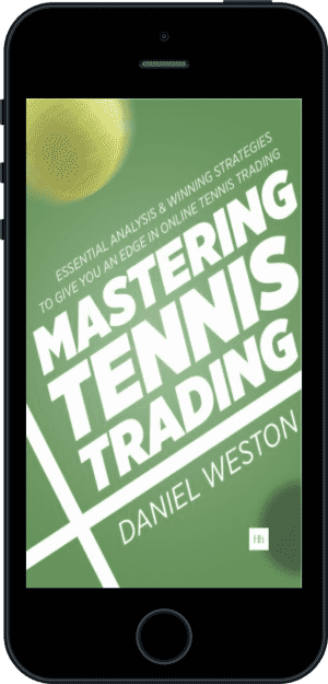 Cover of Mastering Tennis Trading (Ebook - phone) by Daniel Weston
