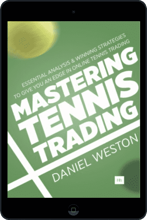 Cover of Mastering Tennis Trading (Ebook - tablet) by Daniel Weston