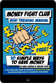 Cover of Money Fight Club Mini Training Manual by Anne Caborn andLindsay Cook