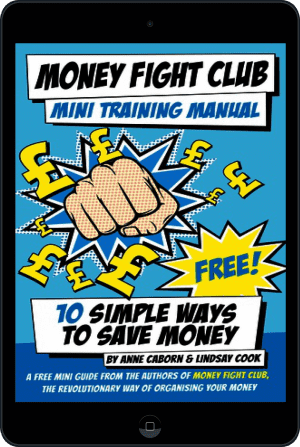 Cover of Money Fight Club Mini Training Manual (Ebook - tablet) by Anne Caborn andLindsay Cook