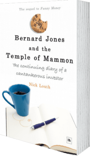 Cover of Bernard Jones and the Temple of Mammon (Paperback) by Nick Louth