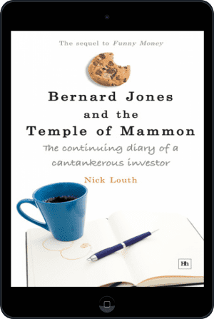 Cover of Bernard Jones and the Temple of Mammon (Ebook - tablet) by Nick Louth
