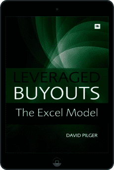 Cover of Leveraged Buyouts Excel Model by David Pilger