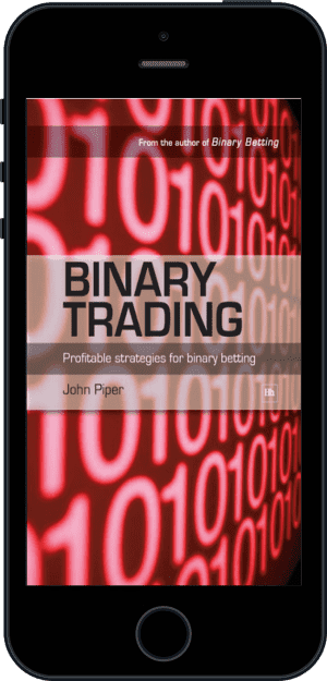 Cover of Binary Trading (Ebook - phone) by John Piper