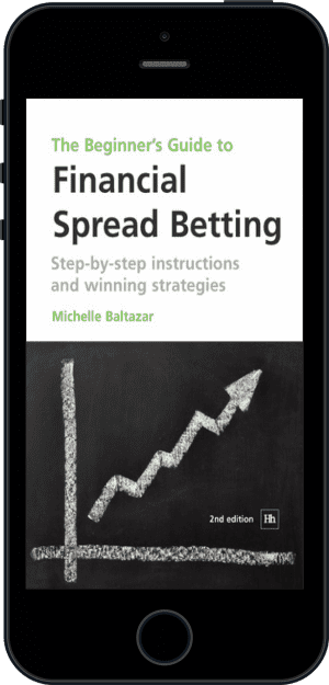 Cover of The Beginner's Guide to Financial Spread Betting (Ebook - phone) by Michelle Baltazar