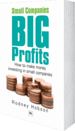 Cover of Small Companies, Big Profits (Paperback) by Rodney Hobson