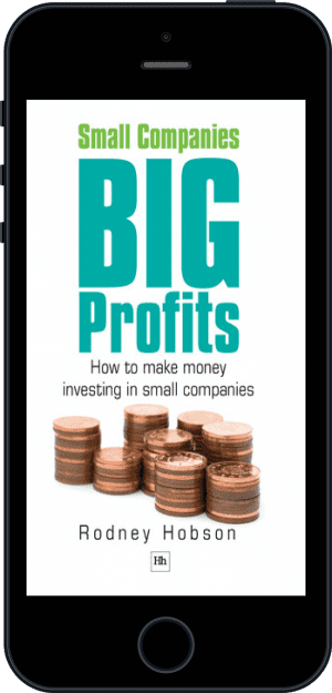 Cover of Small Companies, Big Profits (Ebook - phone) by Rodney Hobson