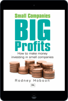 Cover of Small Companies, Big Profits by Rodney Hobson
