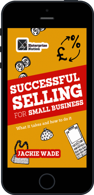 Cover of Successful Selling for Small Business (Ebook - phone) by Jackie Wade