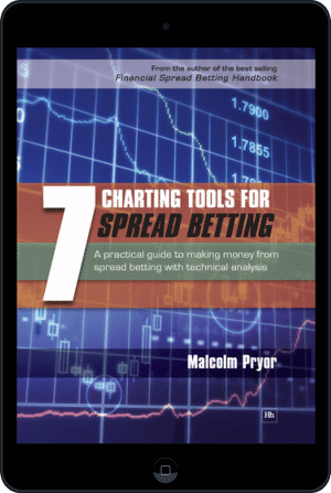 Cover of 7 Charting Tools for Spread Betting (Ebook - tablet) by Malcolm Pryor