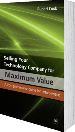 Cover of Selling Your Technology Company for Maximum Value by Rupert Cook