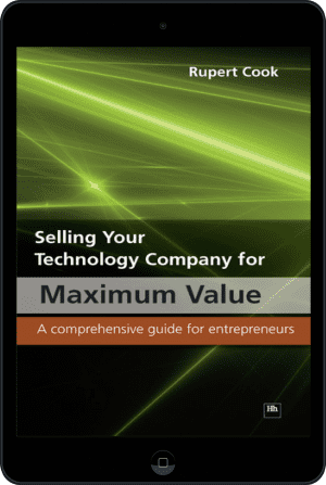 Cover of Selling Your Technology Company for Maximum Value (Ebook - tablet) by Rupert Cook