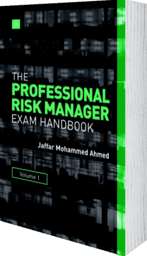 Cover of The Professional Risk Manager Exam Handbook by Jaffar Mohammed Ahmed