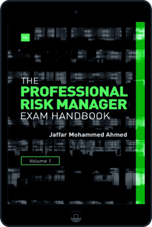 Cover of The Professional Risk Manager Exam Handbook (Ebook - tablet) by Jaffar Mohammed Ahmed
